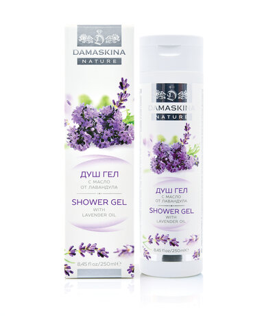 TONING Shower gel with lavender oil 250 ml.